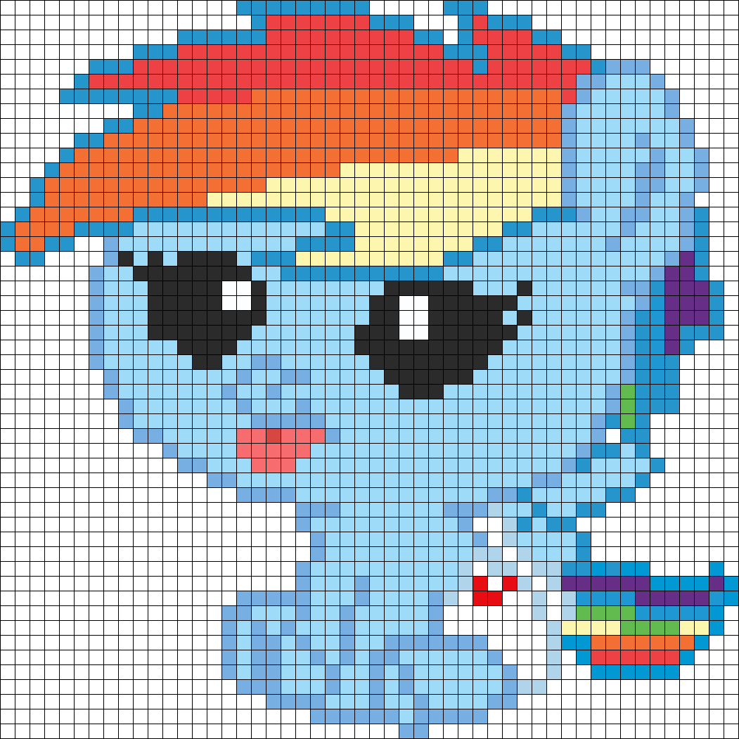 My Little Pony Newborn Rainbow Dash