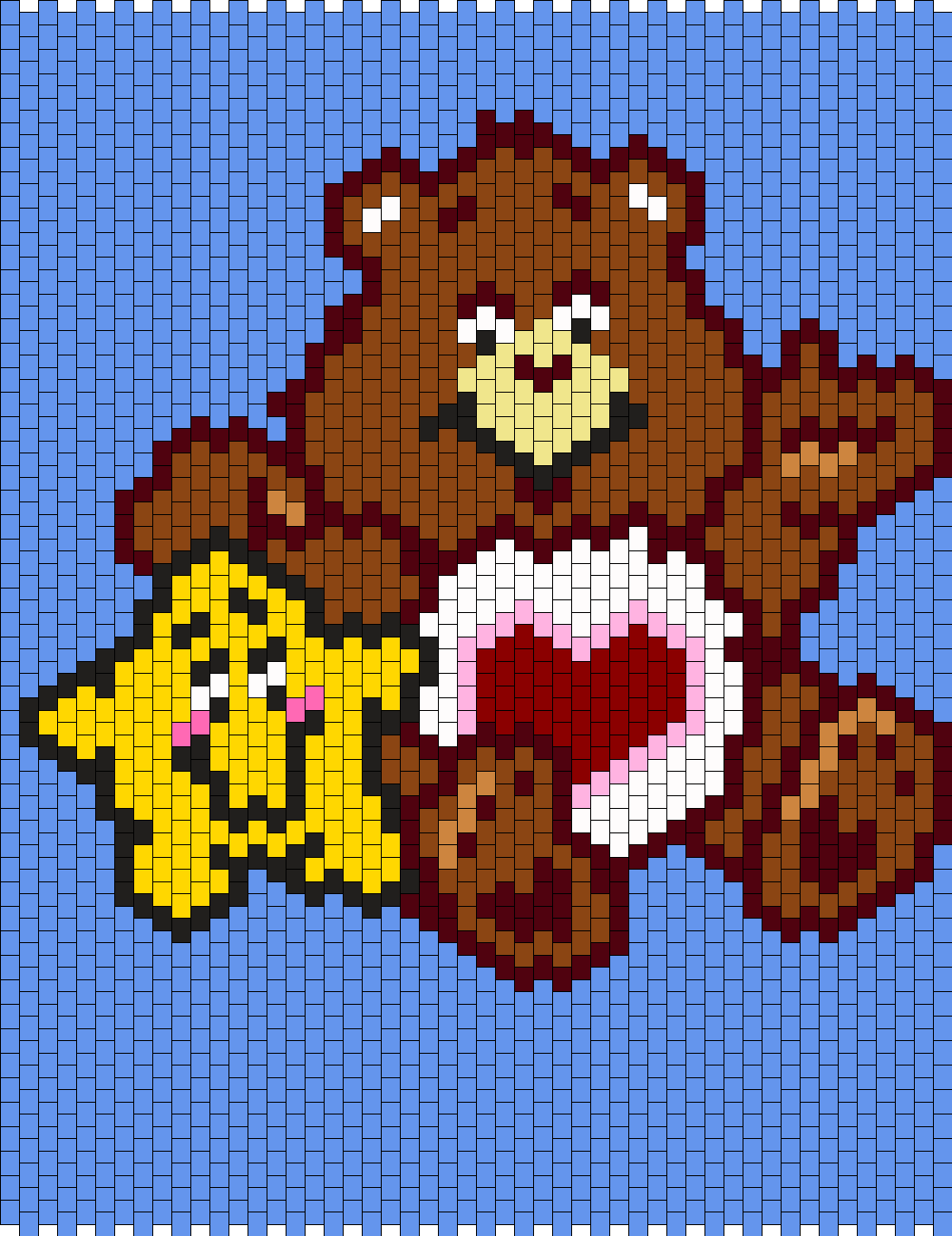 Tenderheart Bear From The Care Bears