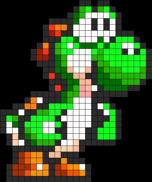 8bit Green Yoshi