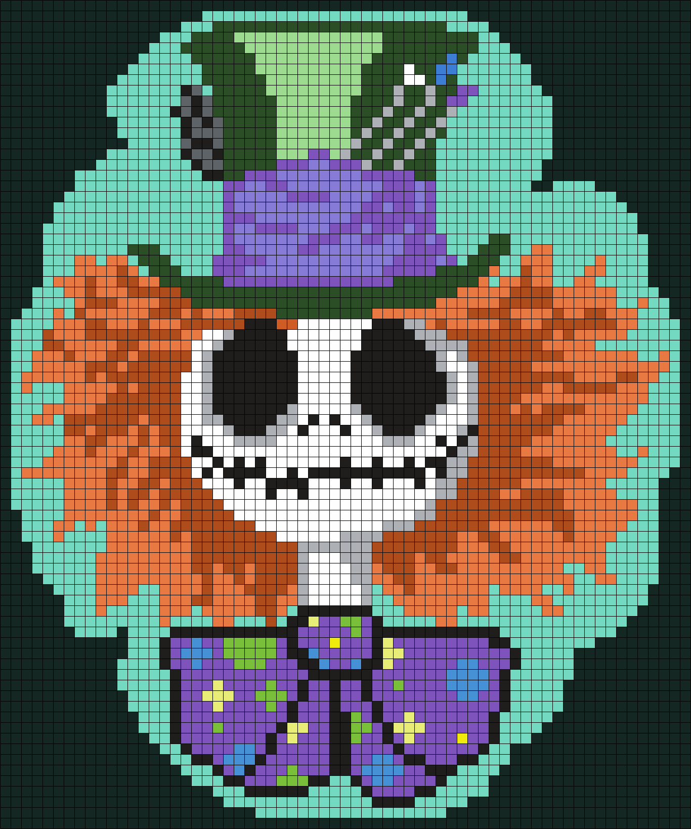 Mad Hatter Jack Skellington