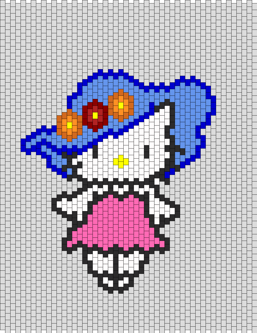 Hello Kitty With Flower Hat