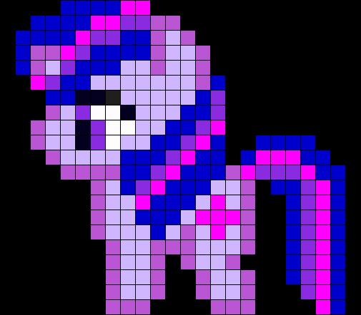 Twilight Perler Bead Pattern / Bead Sprite