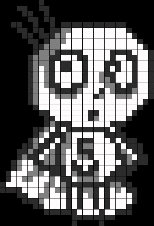 Tim Burtons Stain Boy Perler Bead Pattern / Bead Sprite