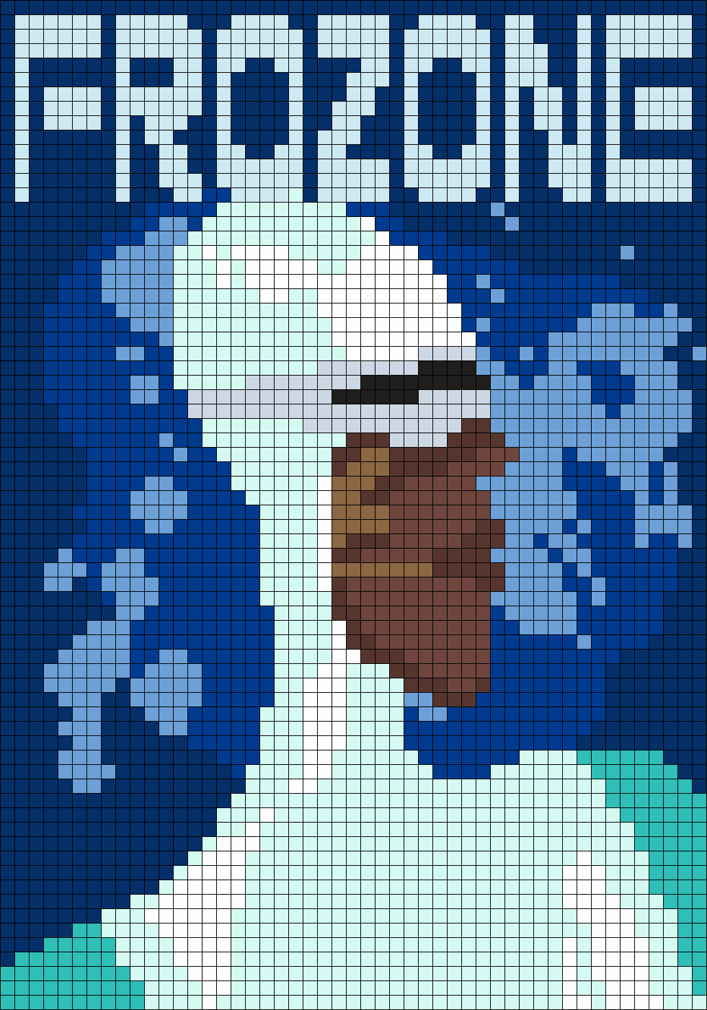 Frozone Poster (from The Incredibles)