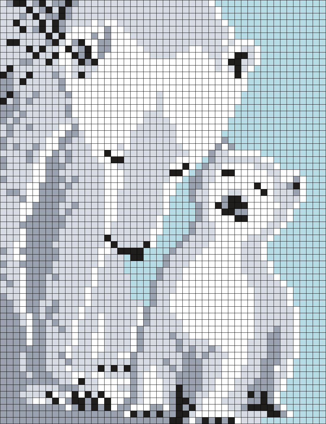Mom And Baby Polar Bears (sq)