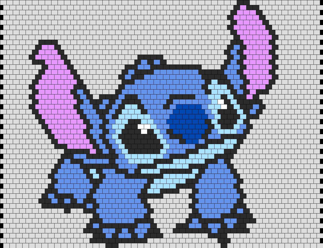 stitch from lilo and stitch peyote bead pattern peyote