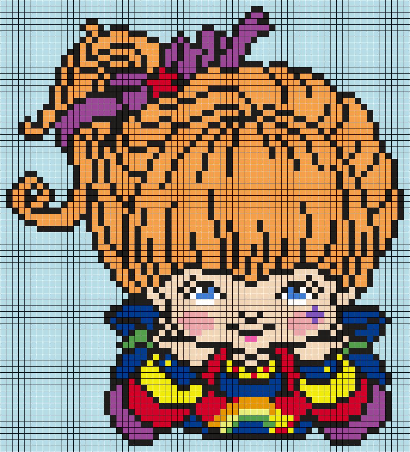 Rainbow Brite (Square)