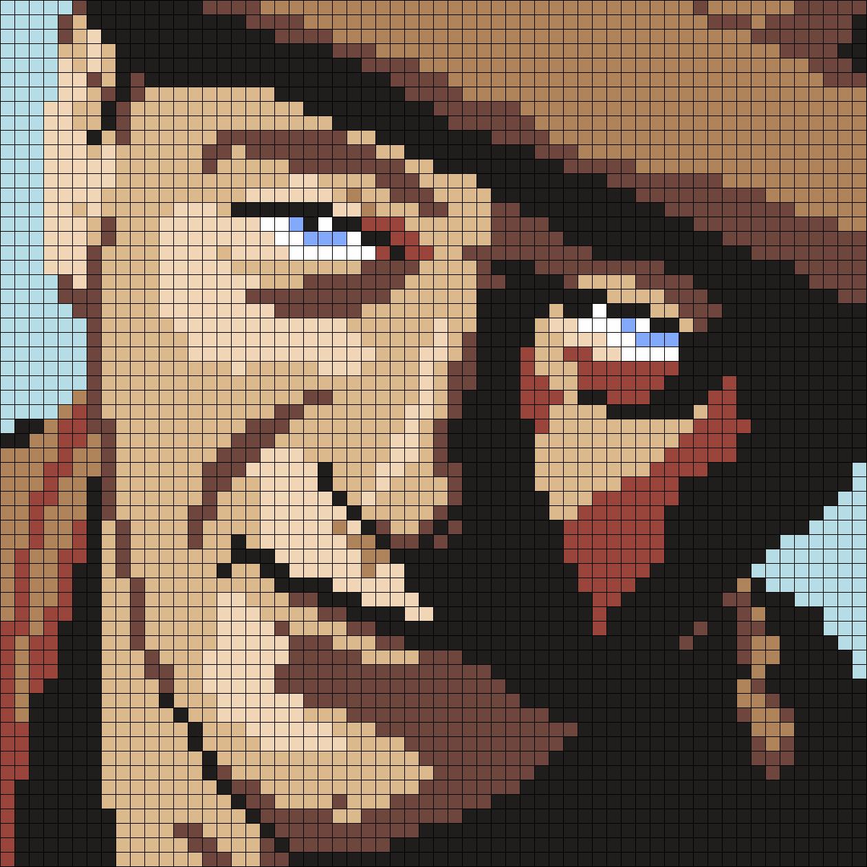 John Wayne (Square)