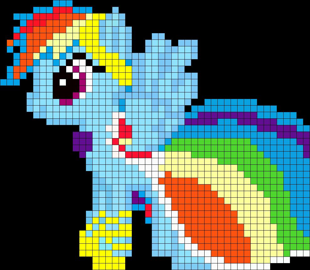 Gala Rainbow Dash My Little Pony