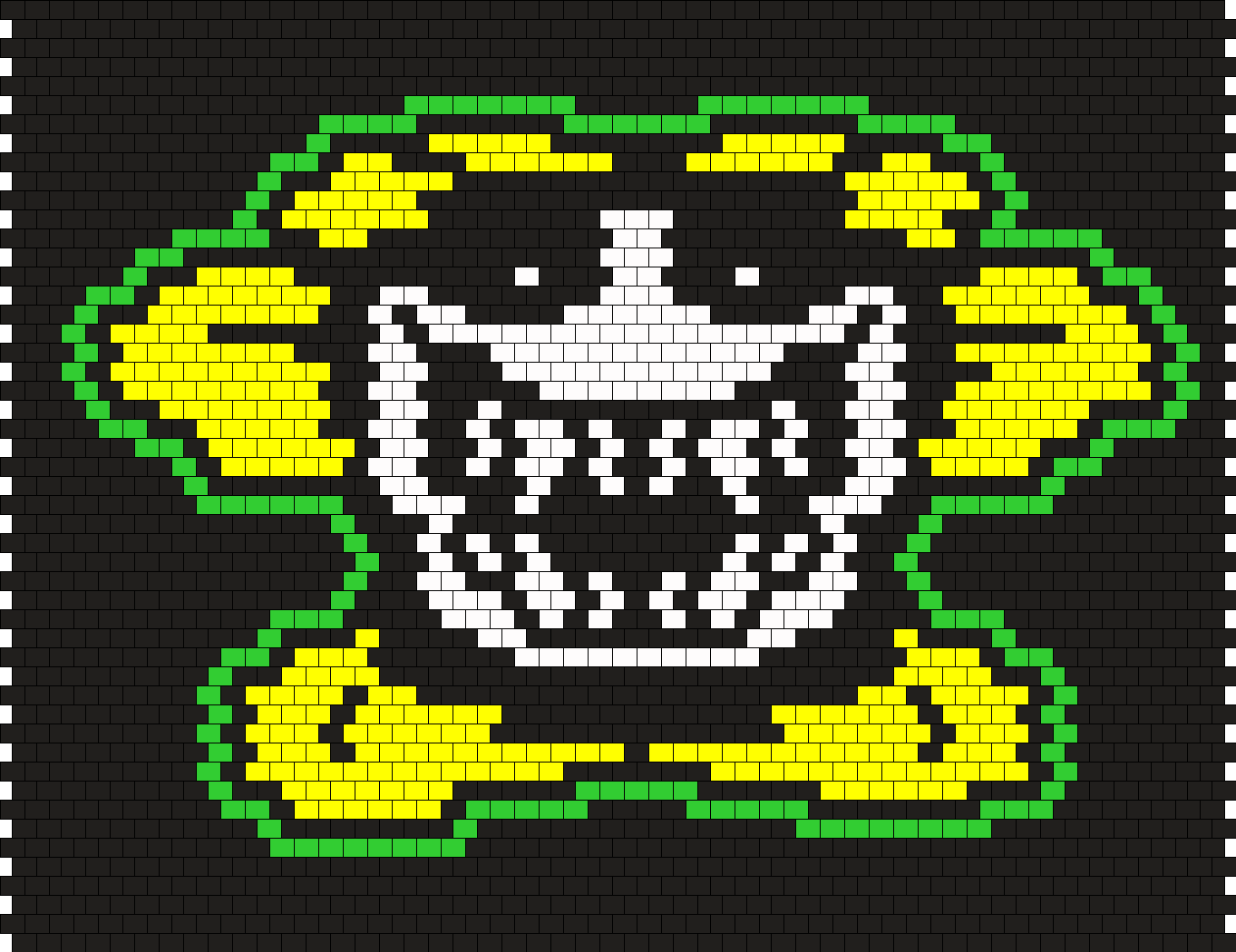 Alternate Color Scary Flowey Face Sprite