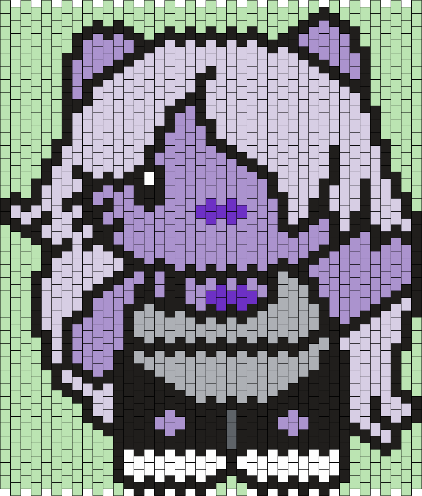 Amethyst From Steven Universe Hello Kitty Mlti Bead Pattern