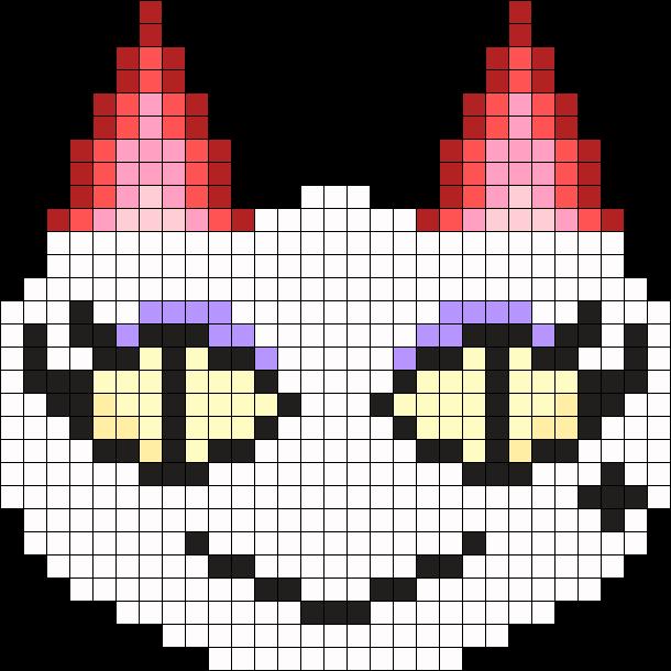 AC Olivia Perler Bead Pattern / Bead Sprite