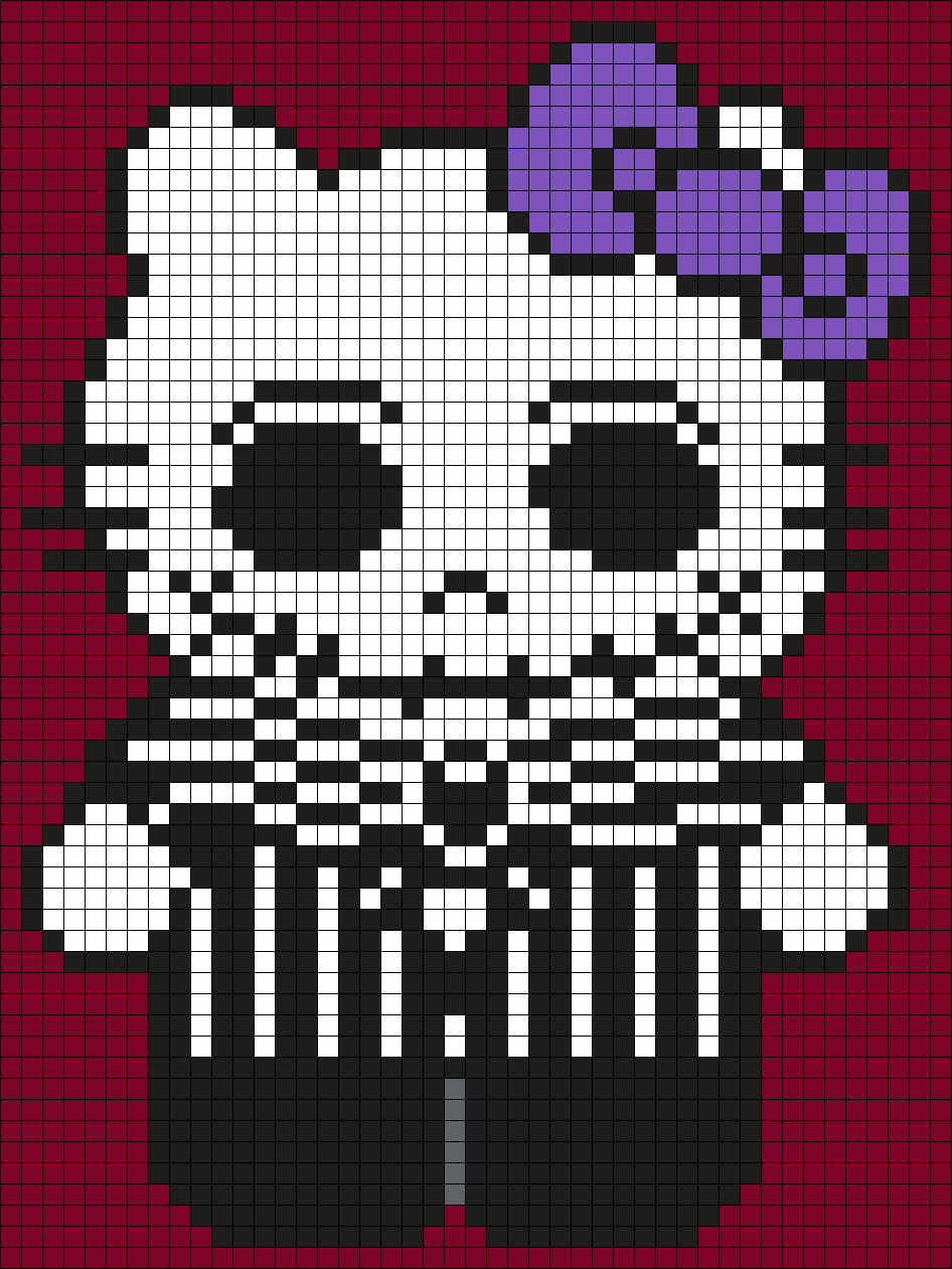 Jack Skellington Hello Kitty (Square)