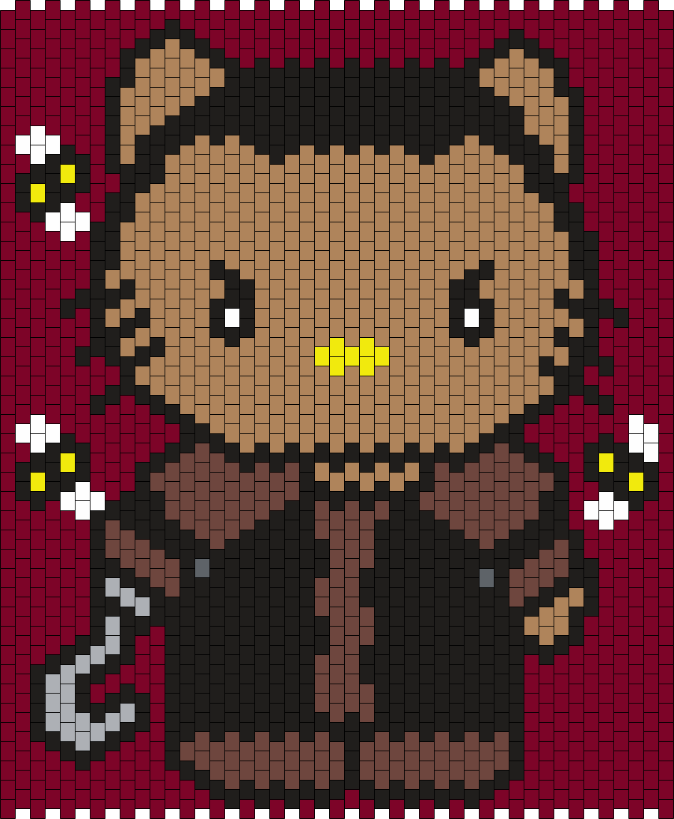 Candyman Hello Kitty Bead Pattern