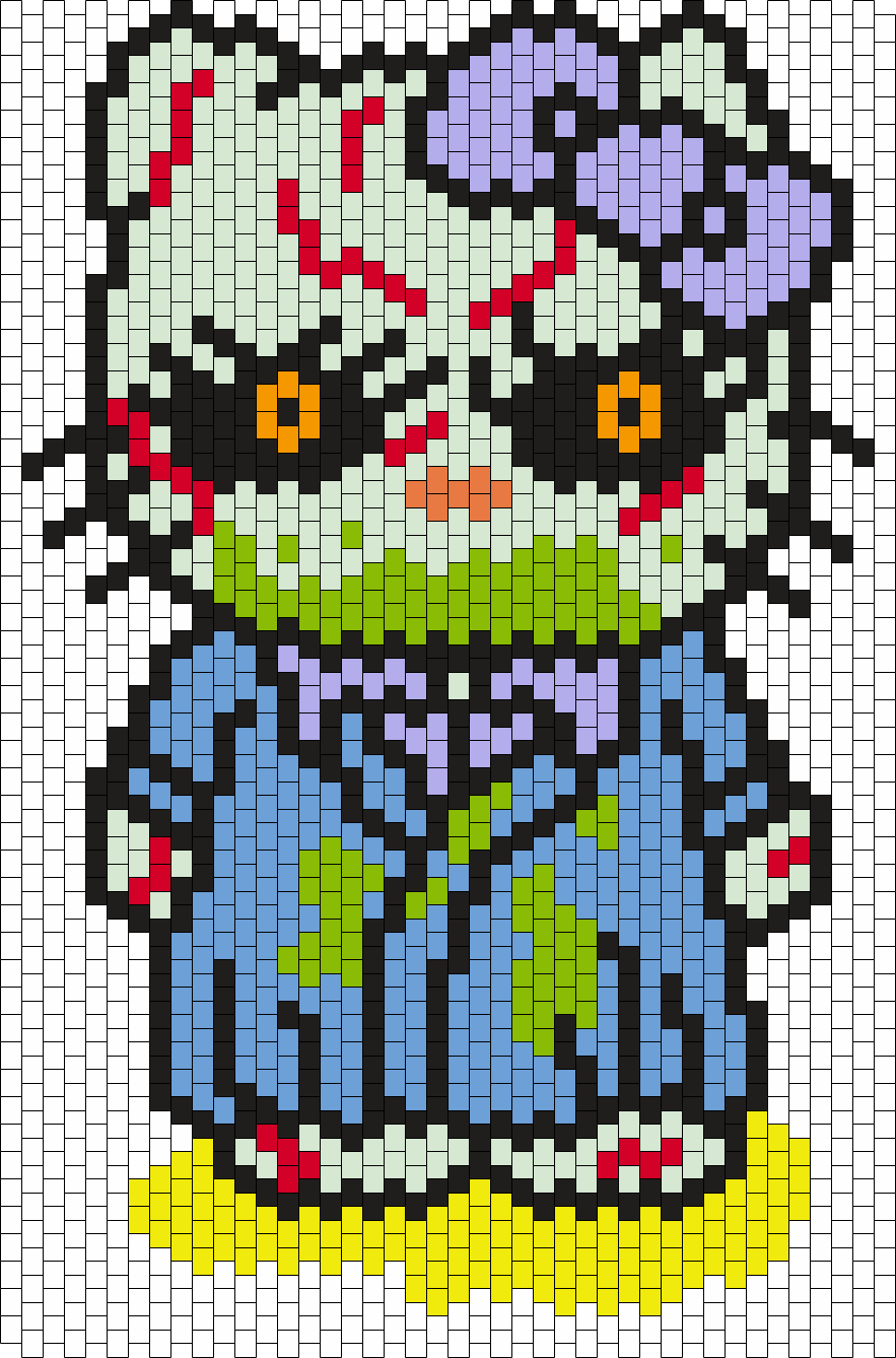 Regan (from The Exorcist) Hello Kitty