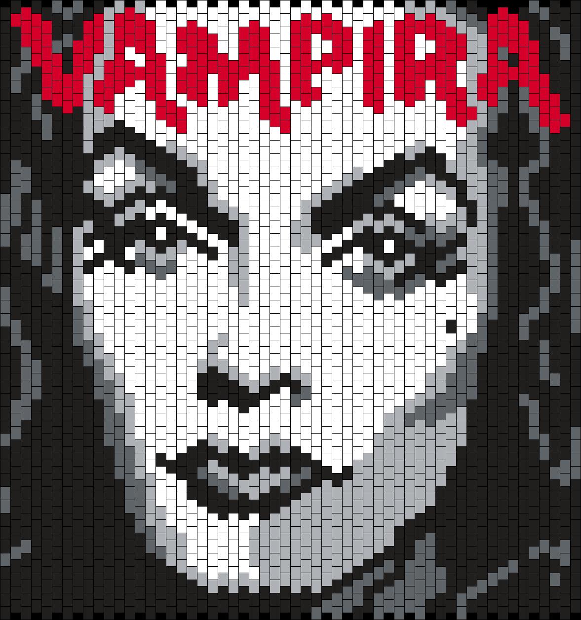 Vampira Poster Bead Pattern