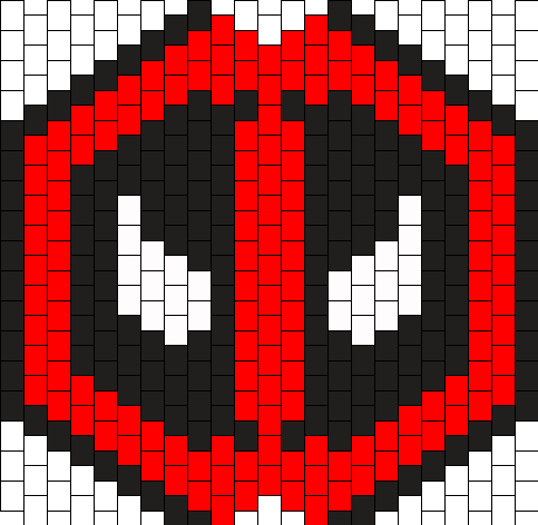 Deadpool Surgical Kandi Mask
