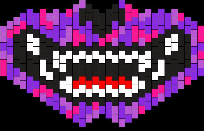 Cheshire Mask Bead Pattern