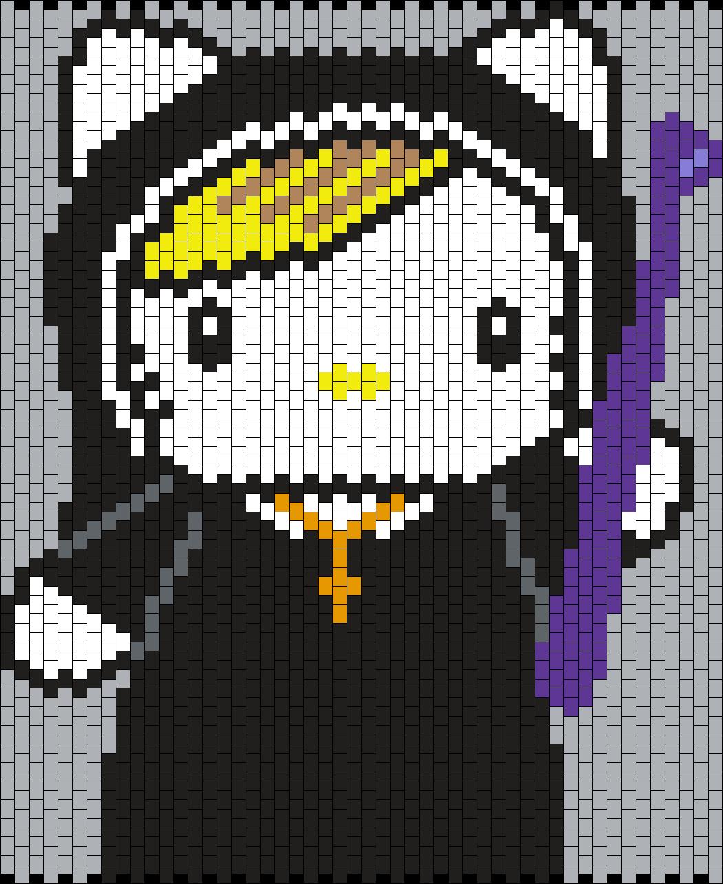 Sister Jude Hello Kitty From American Horror Story Asylum Bead Pattern