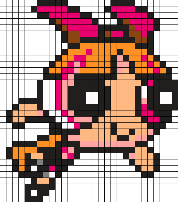 Blossom Perler Bead Pattern / Bead Sprite