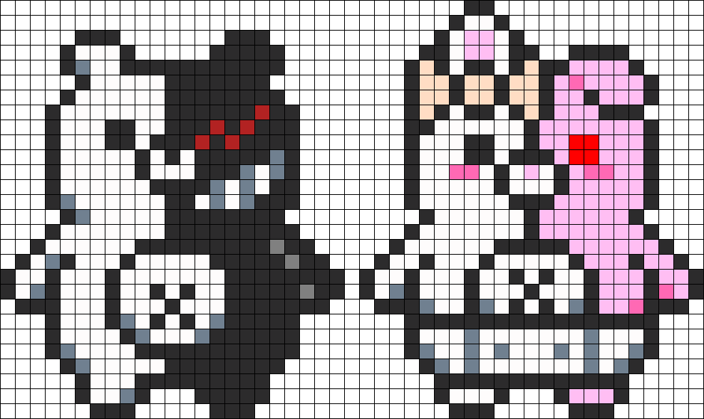 Monokuma And Monomi