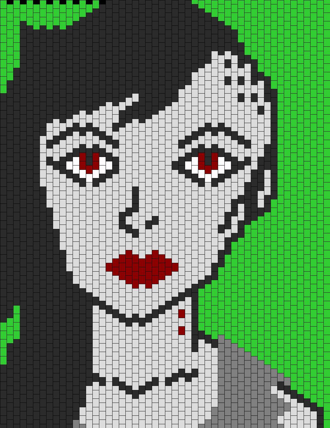 Marceline The Vampire Queen Bead Pattern