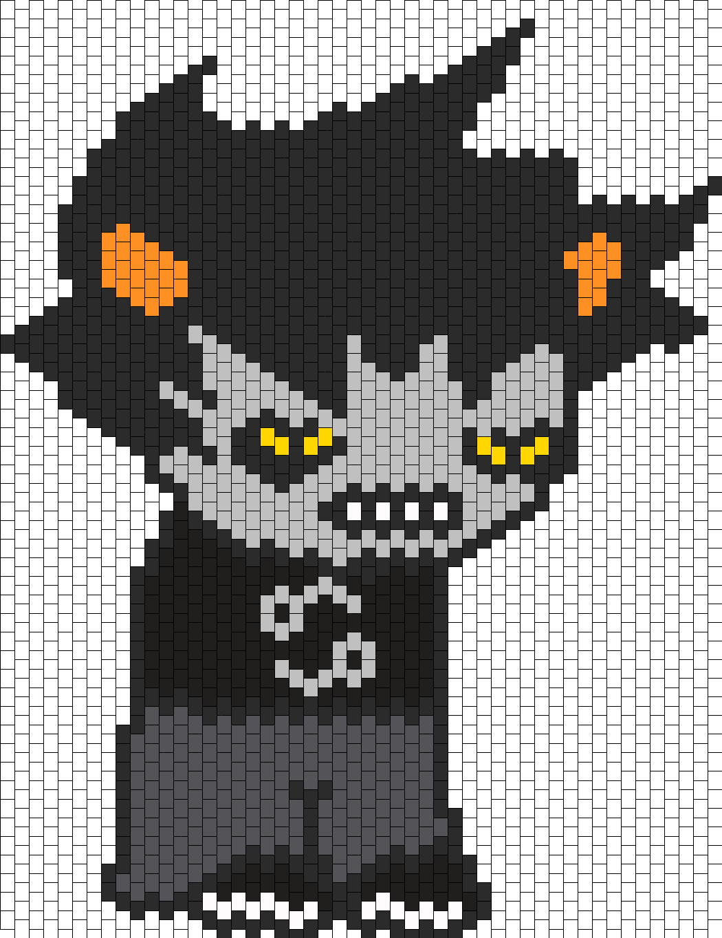 Big Karkat Bead Pattern