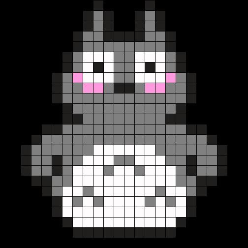 Totoro Perler