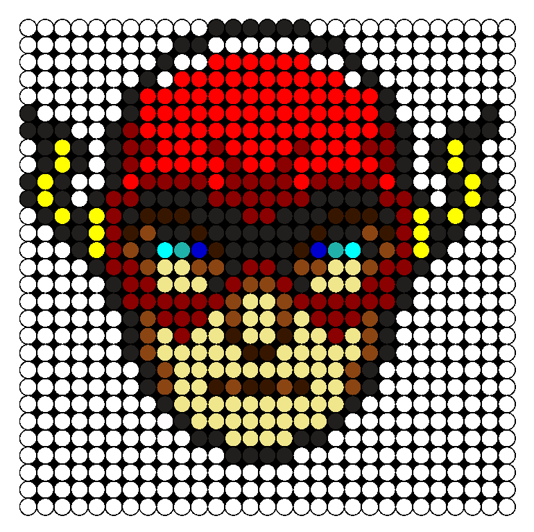 Flash Perler Bead Pattern / Bead Sprite