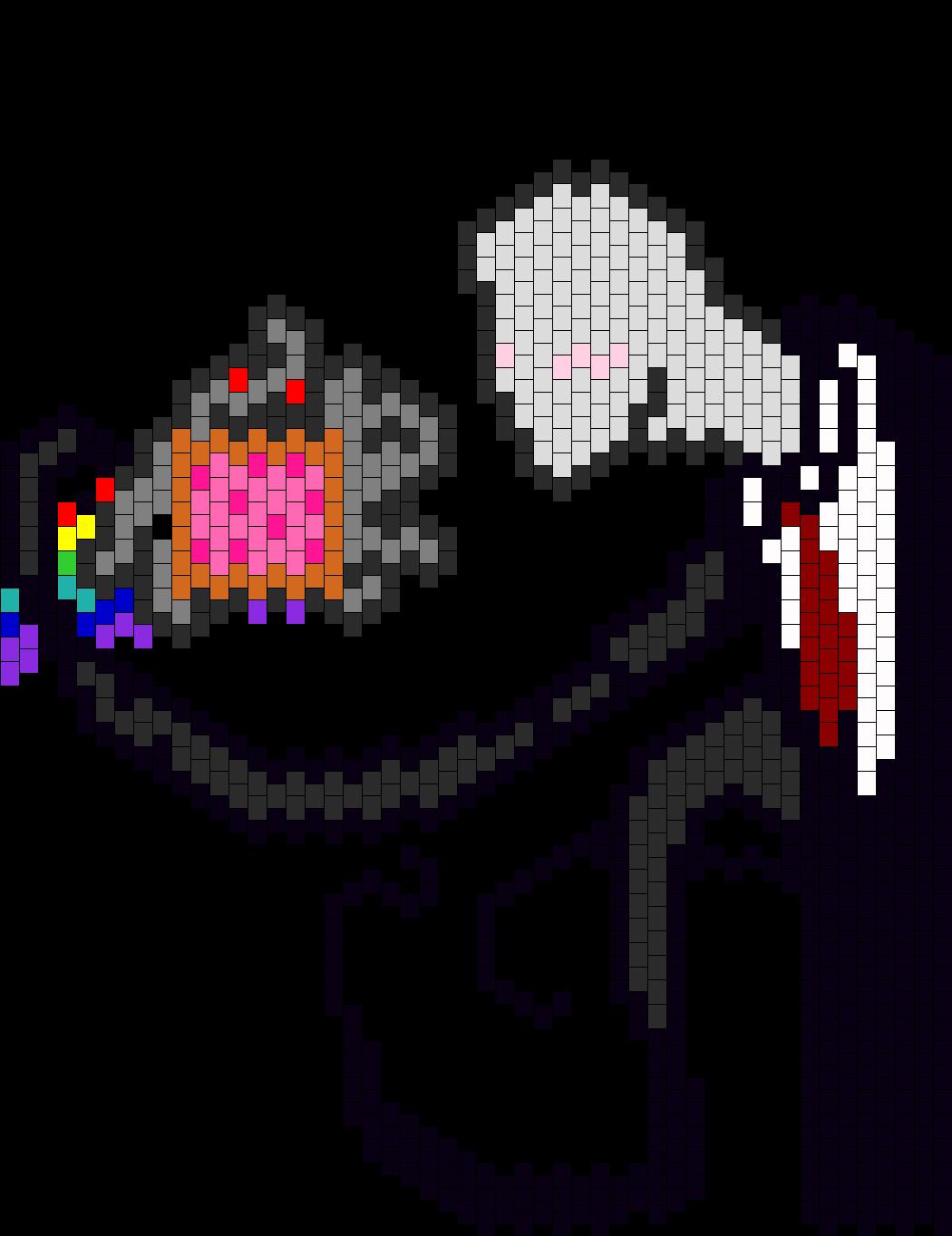 Slenderman And Nyan Cat