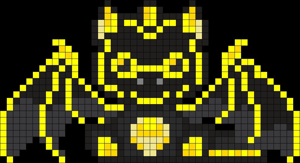 Yellow & Black dragon