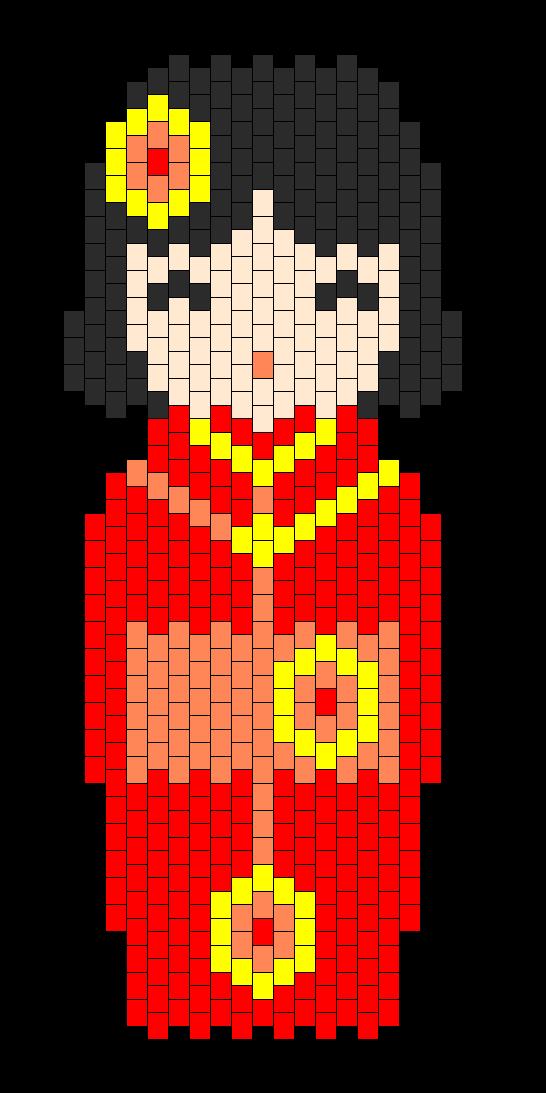 Kokeshi Red