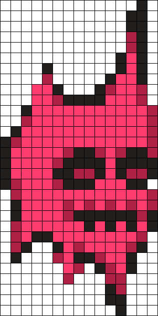 Friday Night Funkin Spirit Icon Perler Pattern