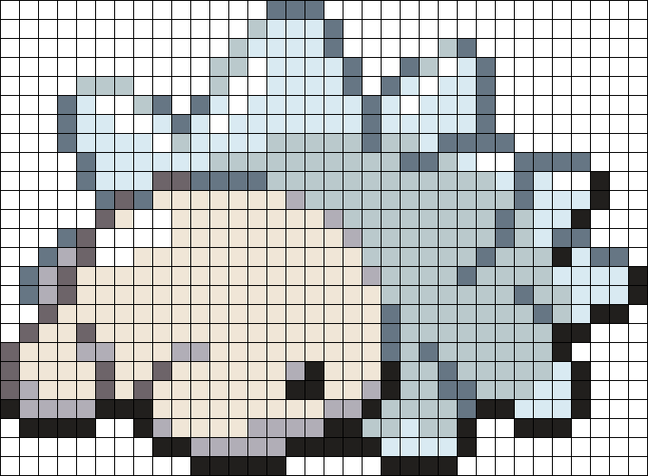 Snom Perler Bead Pattern / Bead Sprite