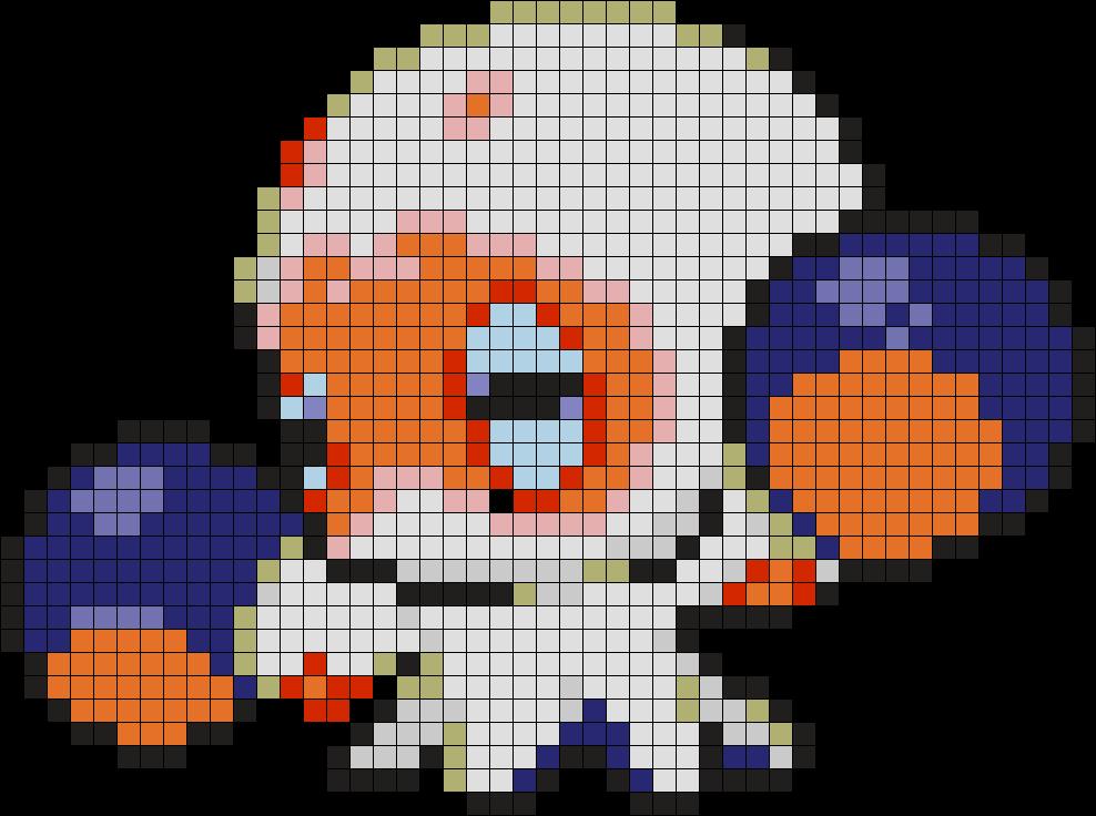 Clobbopus Perler Bead Pattern / Bead Sprite