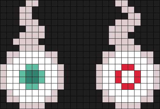 Hanako-kun Little Spirits Perler Bead Pattern / Bead Sprite