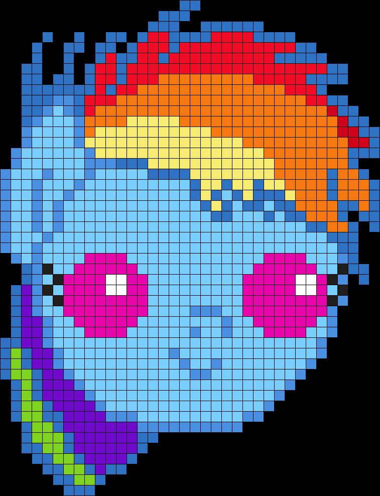 Baby Rainbowdash Head!