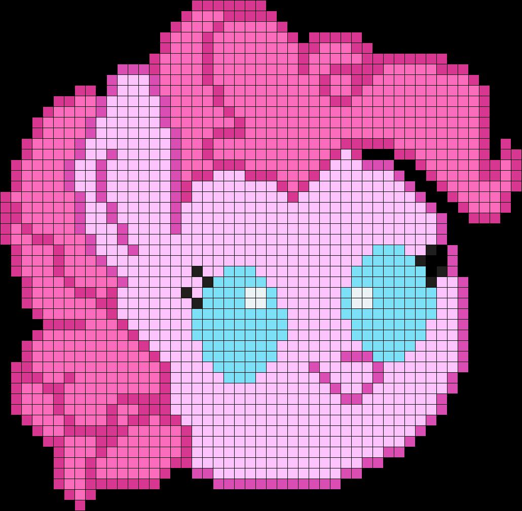 Baby Pinkie Pie Head
