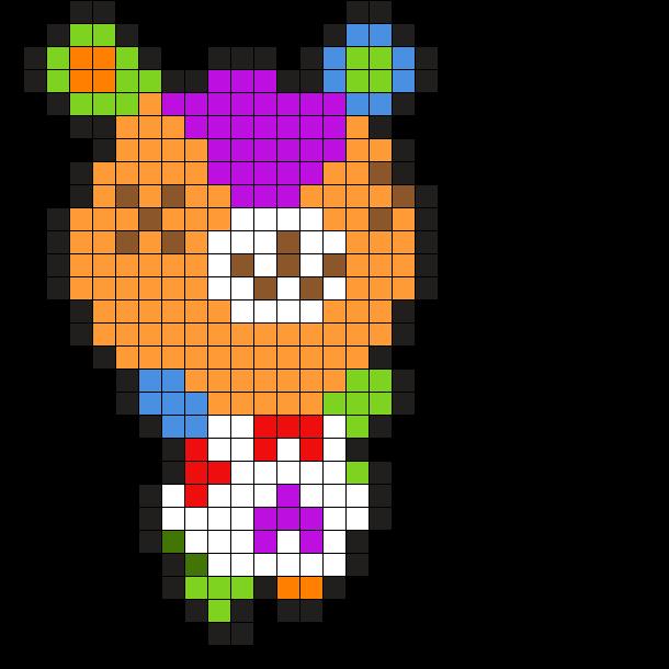 Animal Crossing Stitch Bear