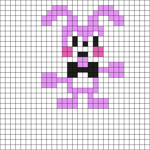 Banny The Walten Files Pixel Sprte