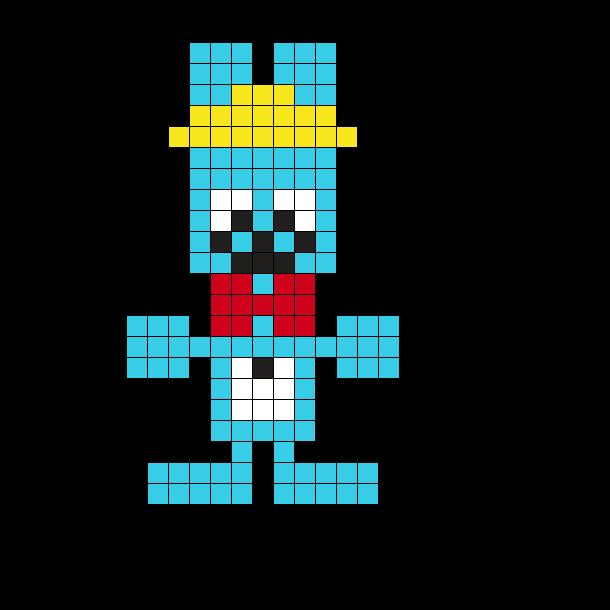 Bon The Walten Files Pixel Sprite