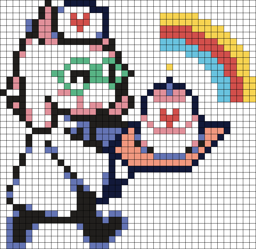 Nurse Ralsei Sprite (Chapter 2)