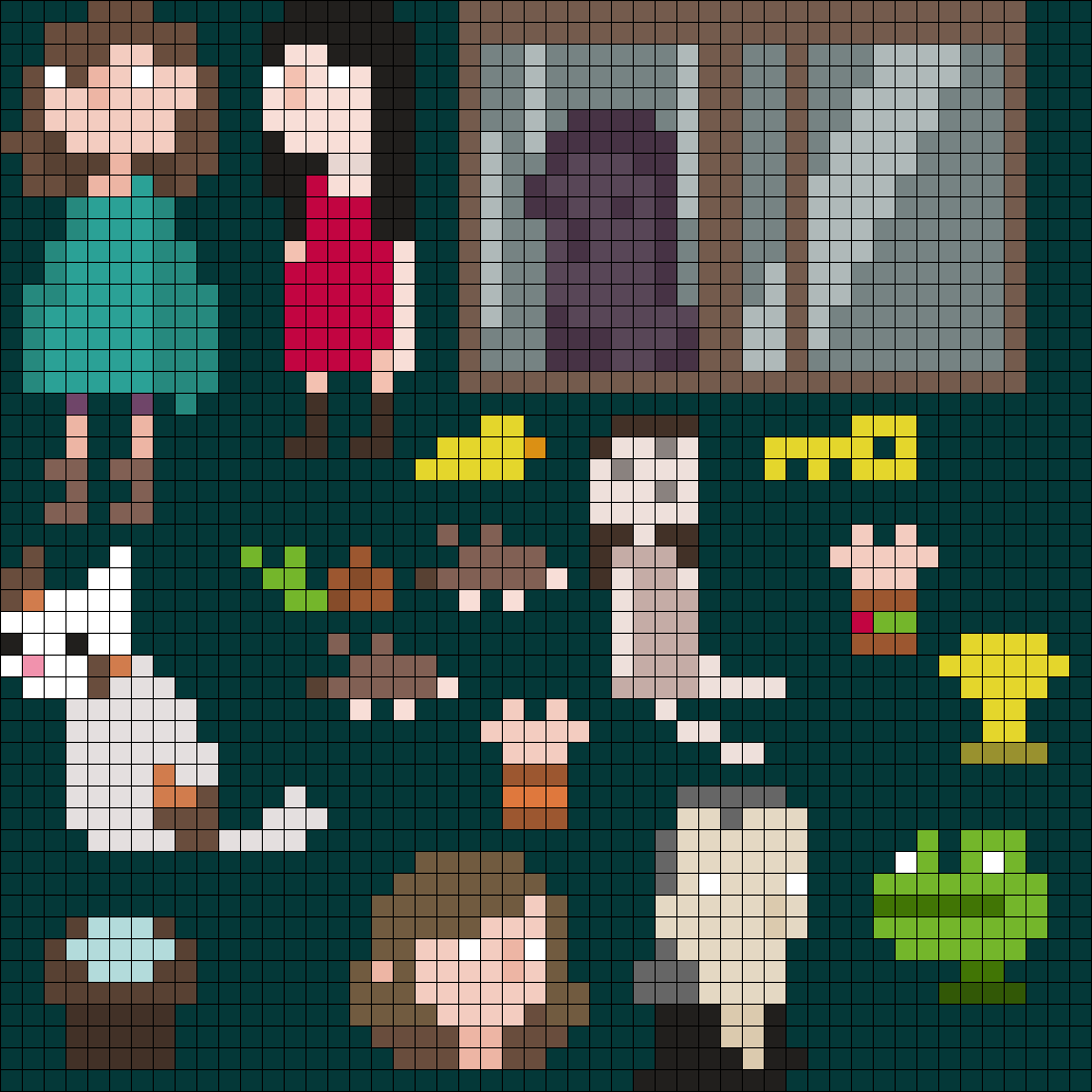 House Characters/Objects