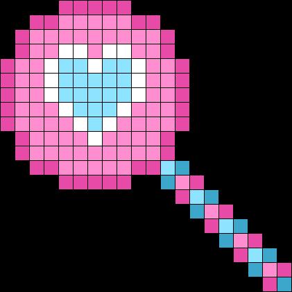 Share Bear Pink Lollipop