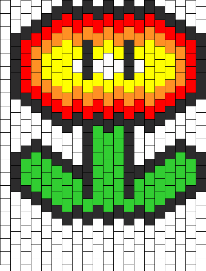 Super Mario Fire Flower Peyote