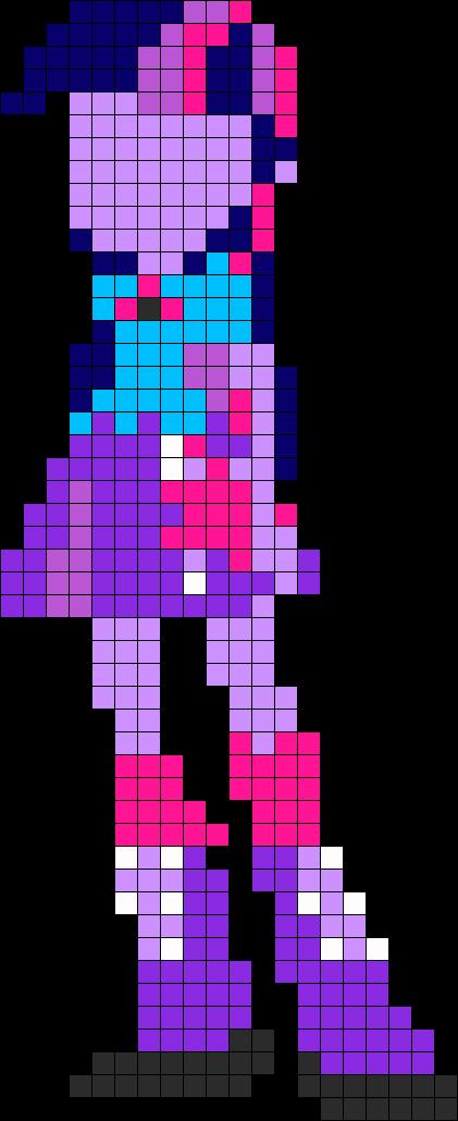 Twilight Sparkle Eg Perler Bead Pattern / Bead Sprite