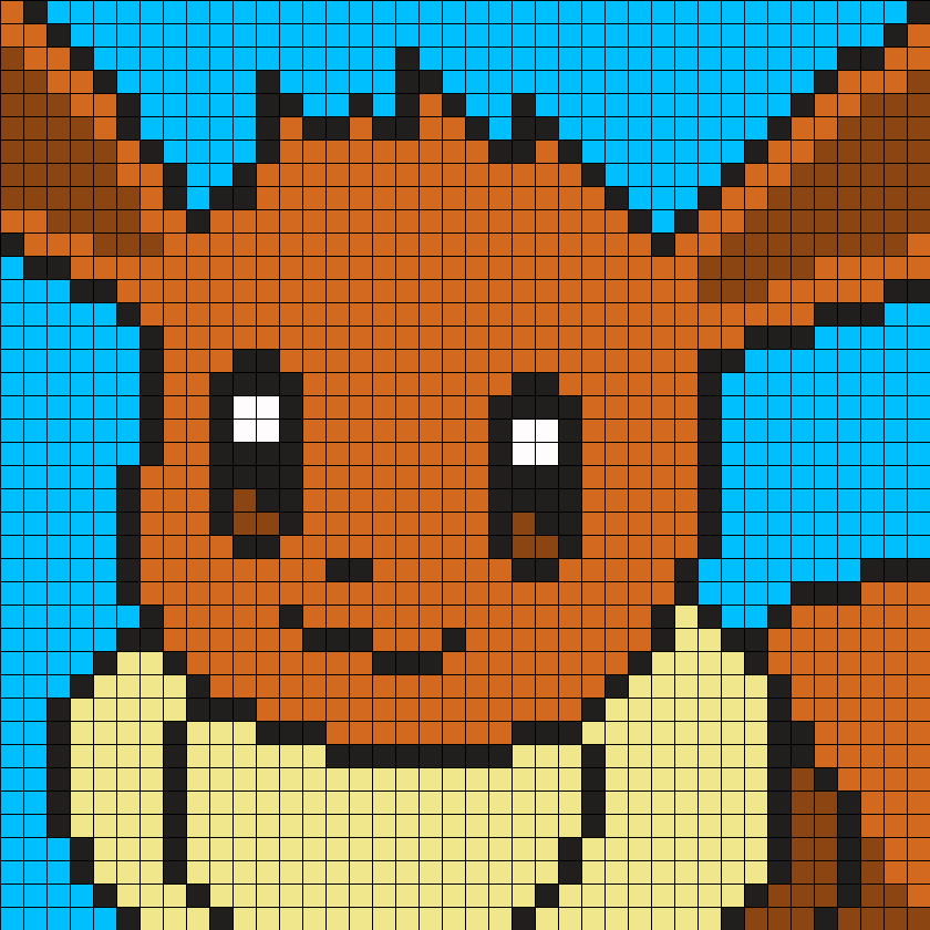 Pokemon Mystery Dungeon Eevee Portrait