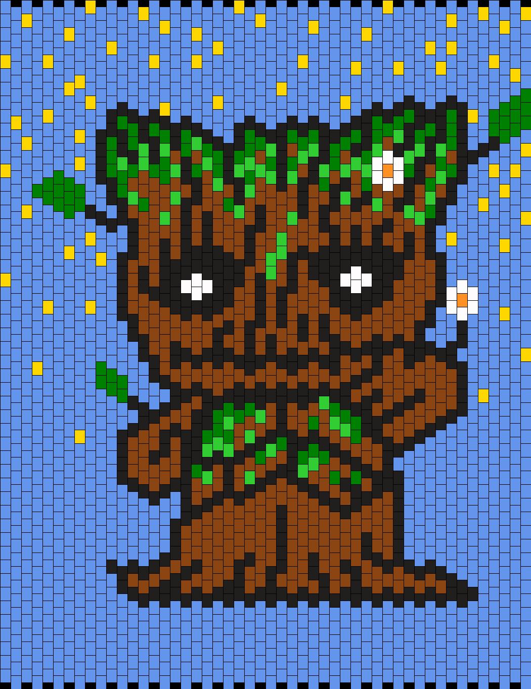 I Am Groot Hello Kitty