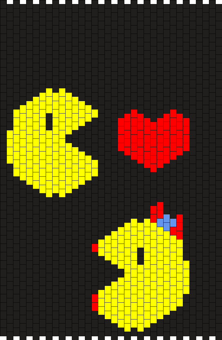 Pacman Backpack Side 1