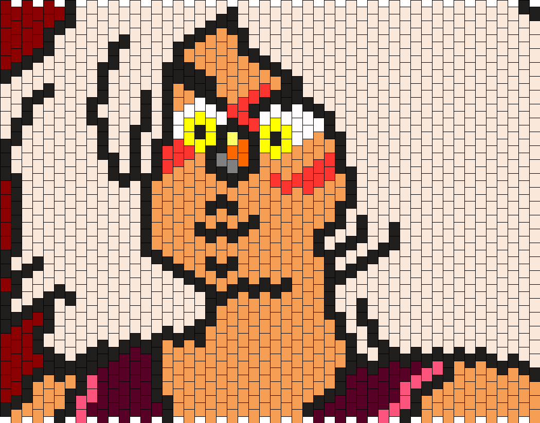 Jasper From Steven Universe Bead Pattern
